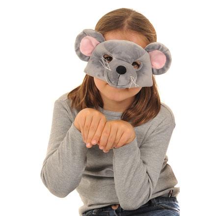 Lovely-Lea-Maus-Tiermaske-Tier-Maske-Mouse-Verkleidung-Gesichtsmaske ...