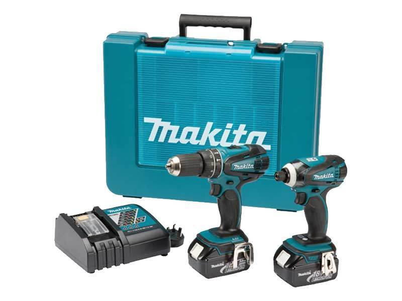 makita 18v dlx2012 dhp456 akku schrauber dtd146 schlagschrauber dc18rc 2xbl1830 ebay. Black Bedroom Furniture Sets. Home Design Ideas